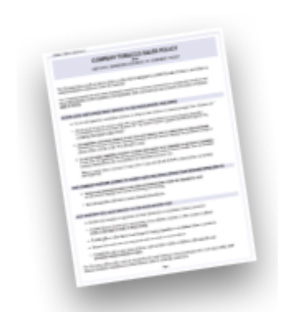 Acknowledgement of Policy Receipt for Employees